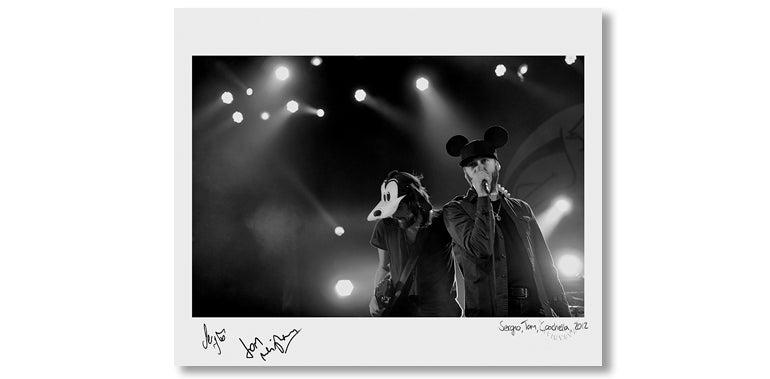 Image of SERGIO & TOM, COACHELLA, 2012 *SIGNED*