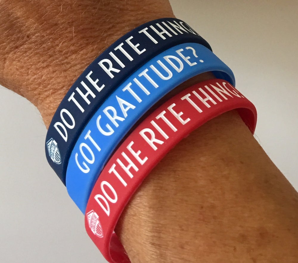 Image of RITE Gratitude Bands - Pack of (10)