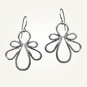 Image of Biergarten Earrings, Sterling Silver