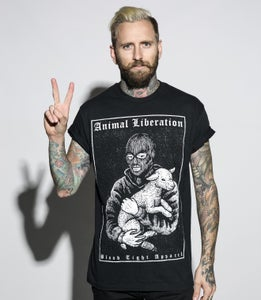Image of Animal Liberation Lamb T-Shirt