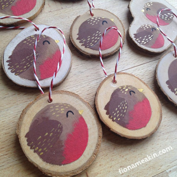 Image of Robin Tree Decorations