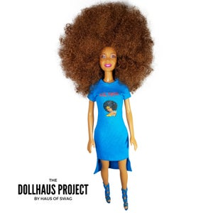 Image of Curl Power Collector Doll (Turquoise)