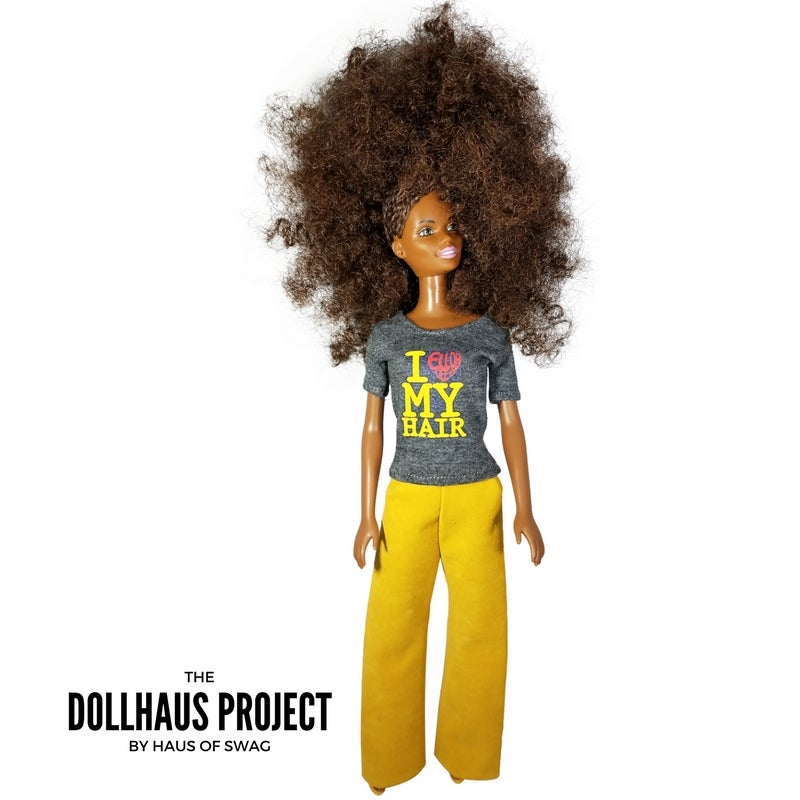 Image of I EllOhVeeEe My Hair Collector Doll
