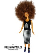Image of I Am One Dope Chick (Black Tank) Tee Collector Doll