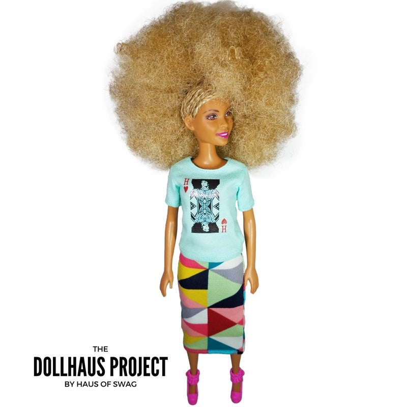 Image of Kween of Hearts (Mint Tee) Collector Doll
