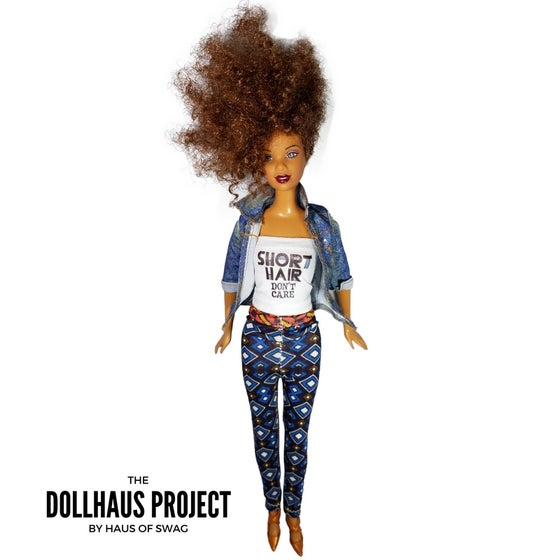 Image of Short Hair Don't Care (Denim) Collector Doll