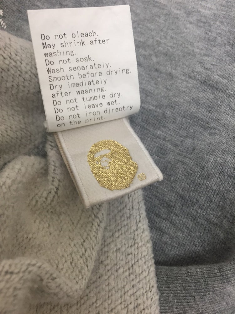 Image of Bape Pirate Store Japan Exclusive Sweatshirt