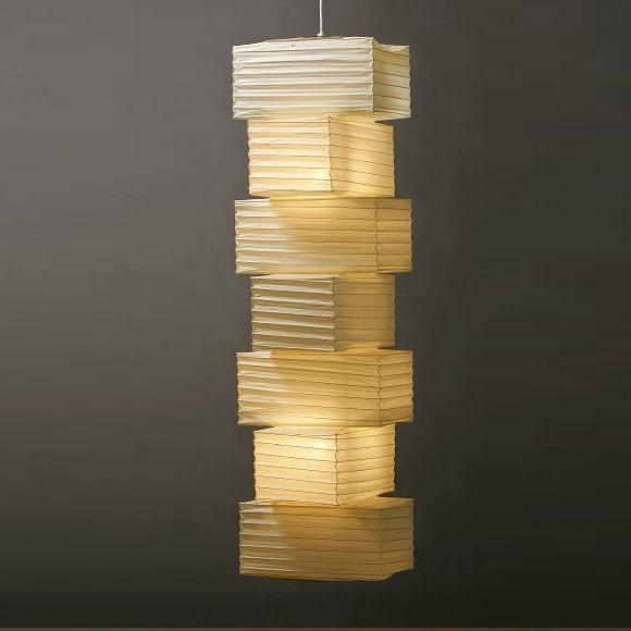 Isamu Noguchi Light Sculpture AKARI Hanging Lamp 36N+PE2