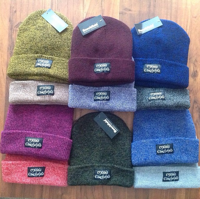 Image of Middle Earthchild Beanies (9 Colours Available)