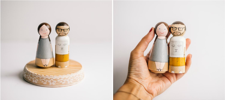Image of Figuras de madera personalizadas: Tu Familia