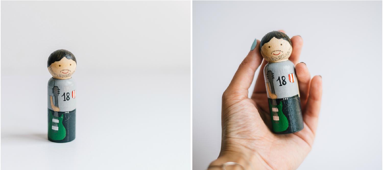 Image of Figura de madera personalizada individual: Minitú