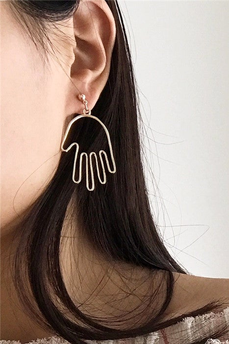 Image of HAND EARRINGS
