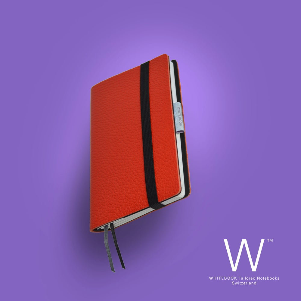 Image of Whitebook Mobile, S548, thick french calf leather, LV rouge