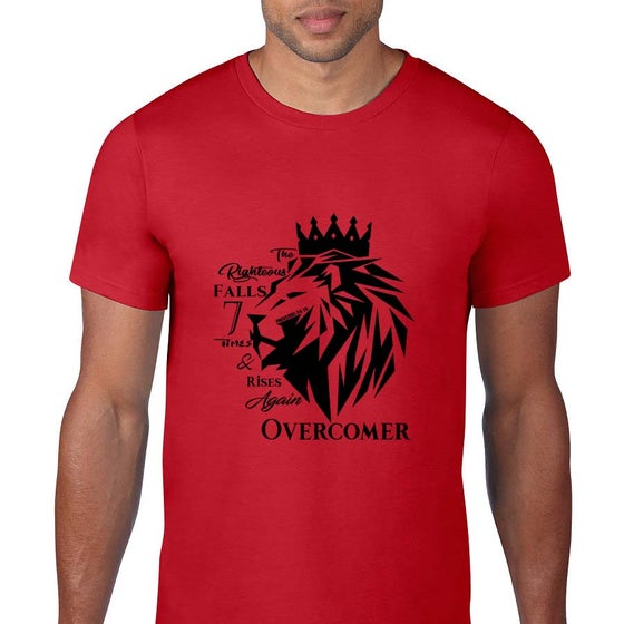 Image of Righteous Fall Red Tee