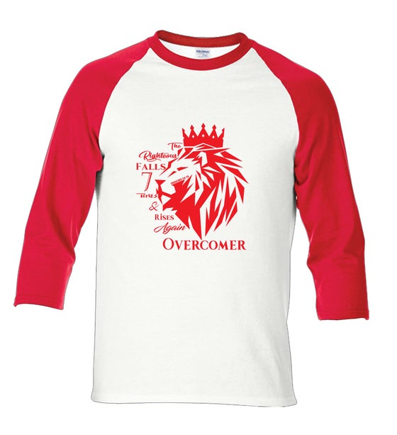 Image of Righteous Fall Red & White raglan