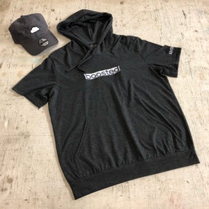 Image of BOOSTED LONG EMBROIDERY T-SHIRT HOODY
