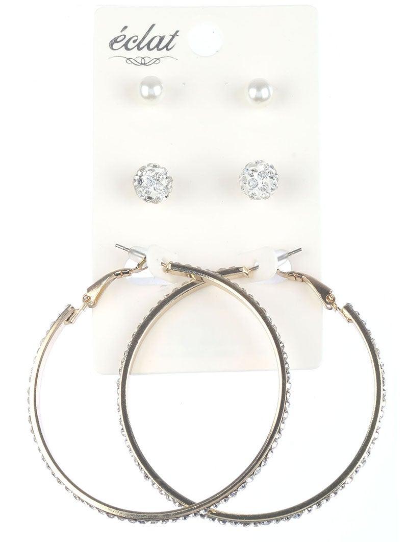 Image of Three Piece Claudia Earring Set