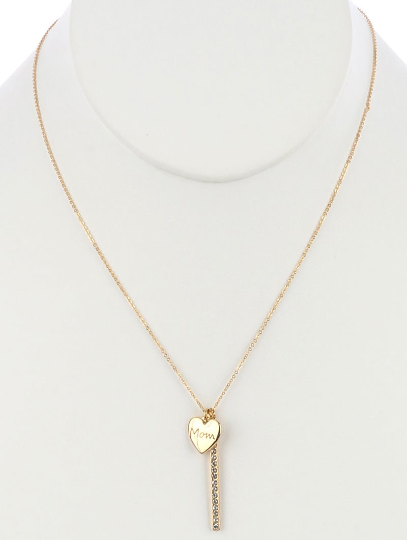Image of Love You Mom Necklace