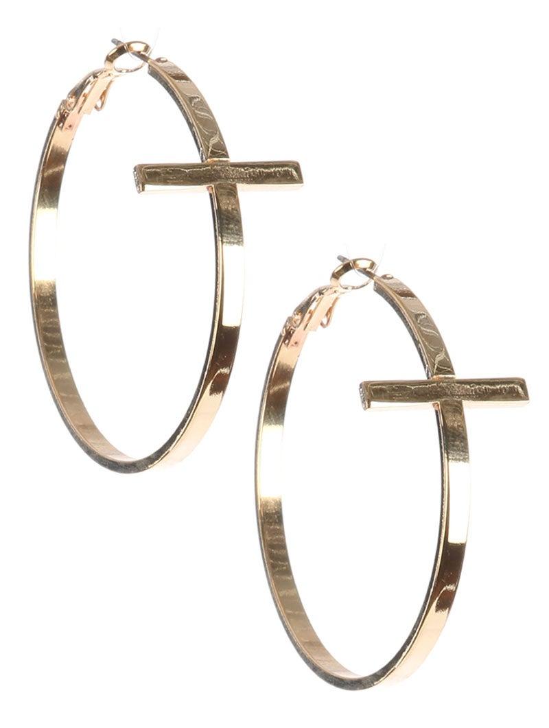 Image of Cross Earrings