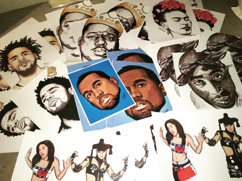 Image of Assorted Prints