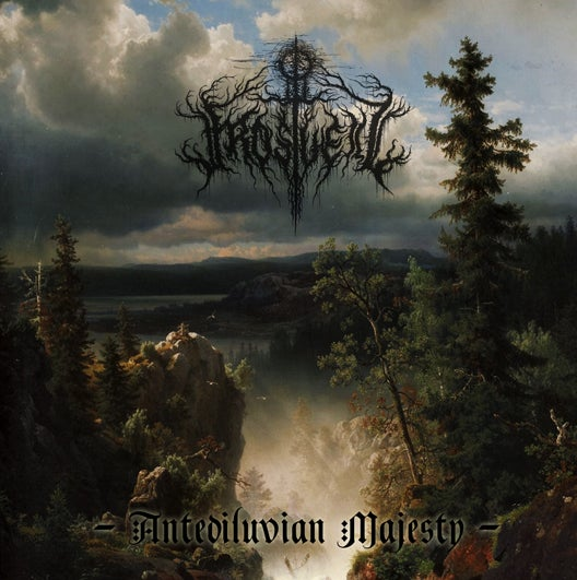 "Image of Frostveil - ""Antediluvian Majesty"" CD"
