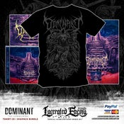Image of DOMINANT - The Summoning Tshirt - CD / Digipack Bundle