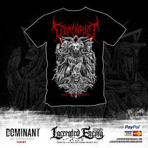 Image of DOMINANT - The Summoning  Tshirt
