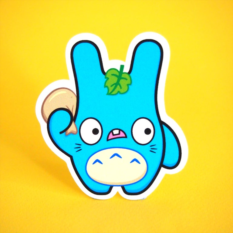 Image of Totoro Chu Baldwin sticker