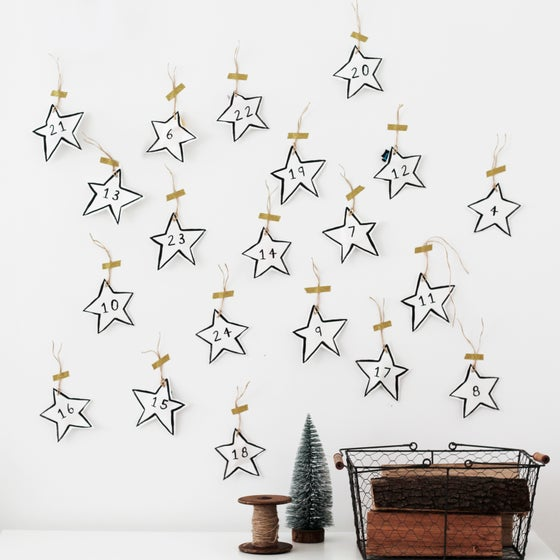 Image of PRINTABLE ADVENT CALENDAR