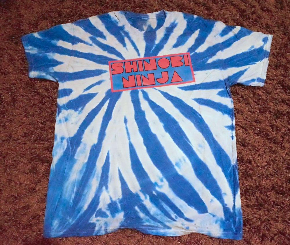 Image of Limited Edition Blue Tye Dye Glow In The Dark (4 Made)