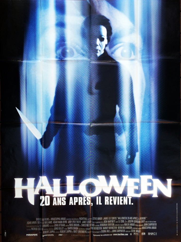 Image of 1998 Halloween H20: 20 Years Later Original French Grande Movie Poster