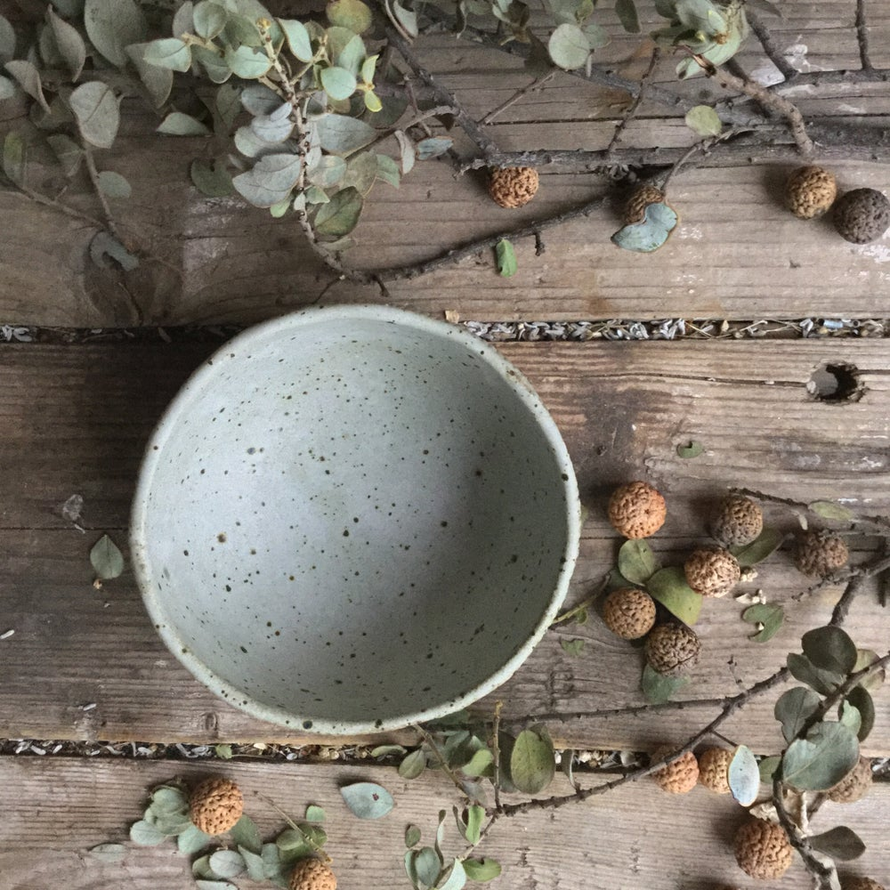 Image of Quail speckle breakfast bowl 17110045