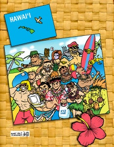 Image of Street Fighter Postcard print