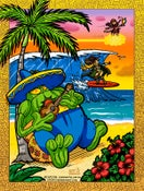 Image of Capcom Fighting Tribute: Hawaii Vacation 2015 print