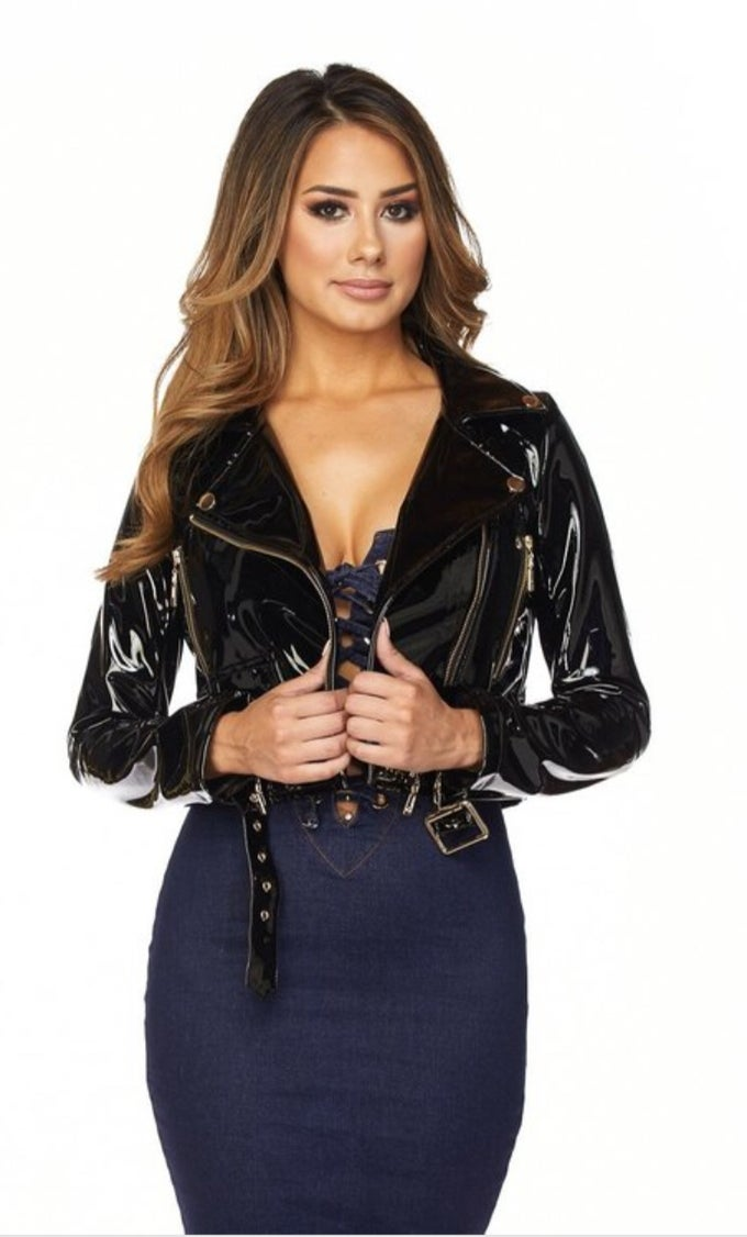 Image of Diana Latex Jacket