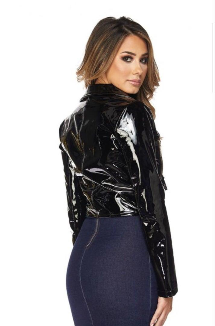 Image of Diana Latex Jacket