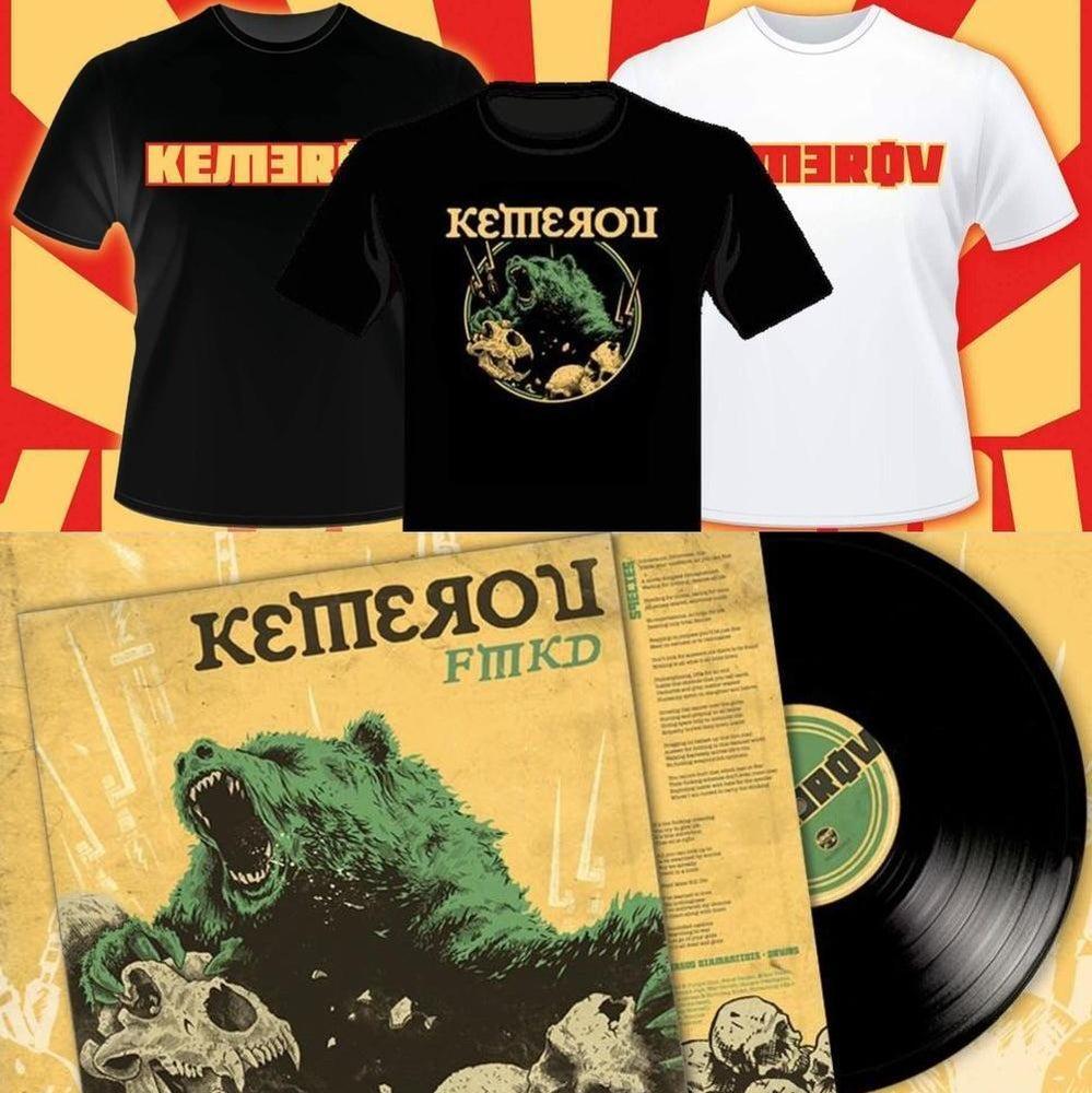 "Image of Kemerov - FMKD 12""/CD/t-shirt"