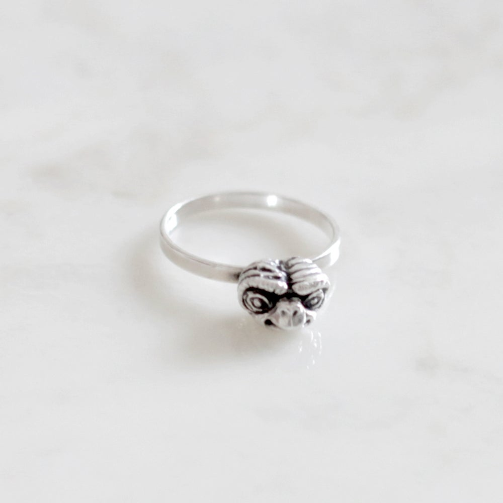 Image of Silver Ring / Anillo EXTRATERRESTRE Plata XS