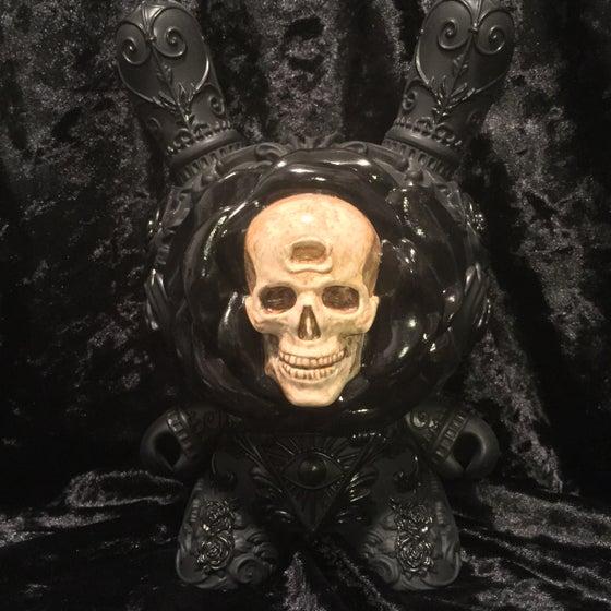 "Image of Death Blossom Custom 8"" Dunny & Magic Crystal Ball Set (ltd)"