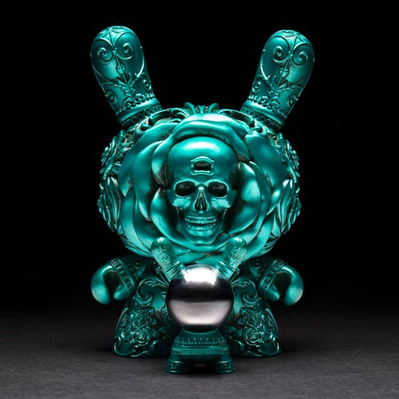 "Image of Teal Clairvoyant 8"" Dunny"