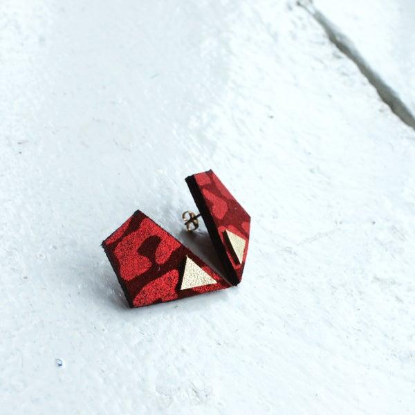 Image of Revival earrings - red