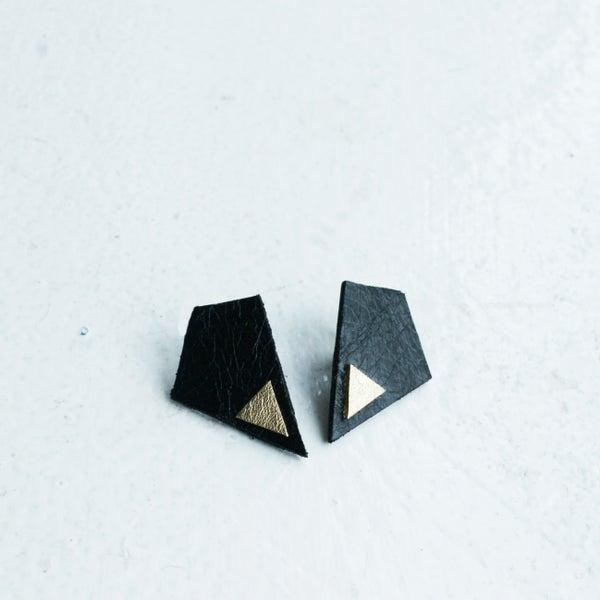 Image of Revival earrings  - Black