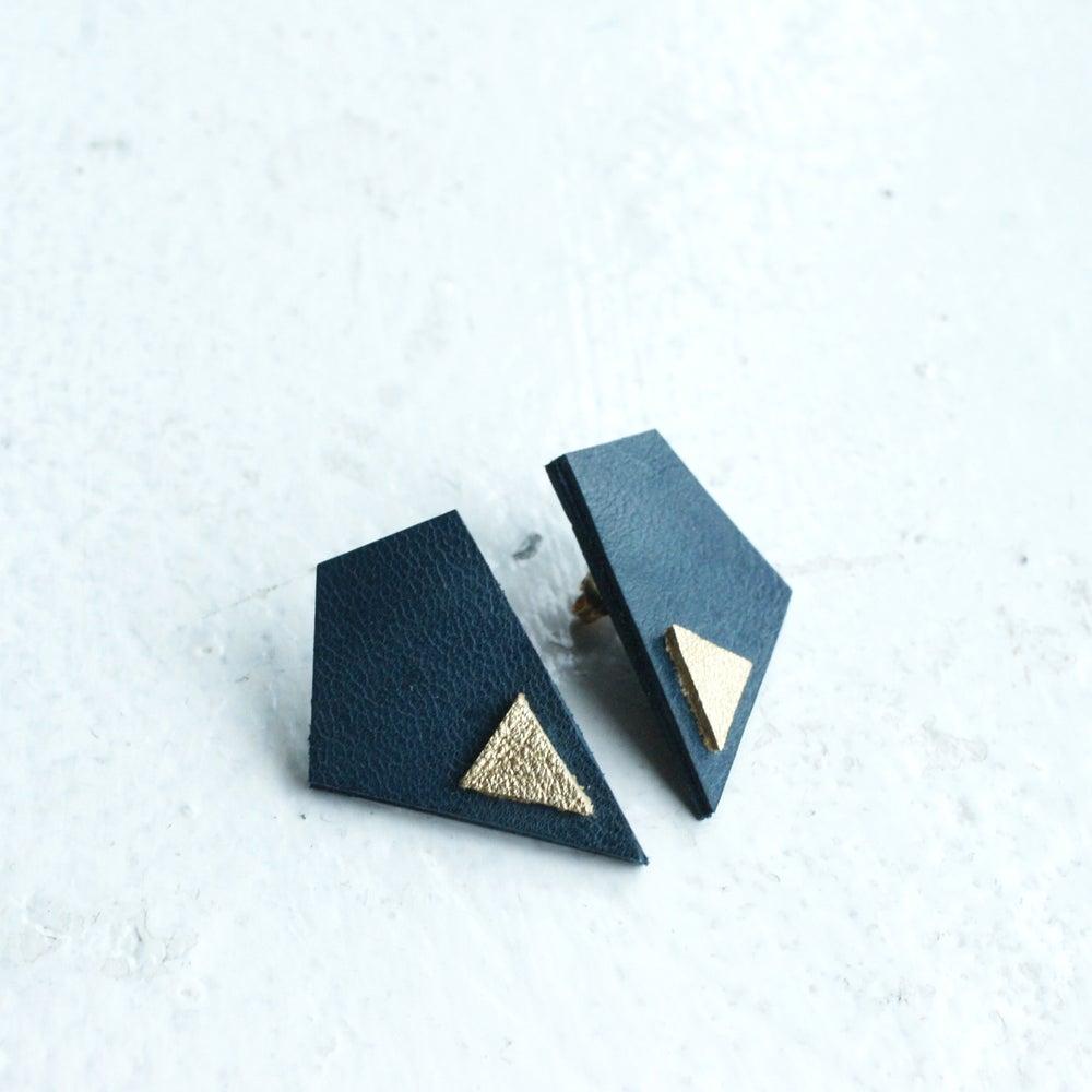 Image of Revival earrings - blue