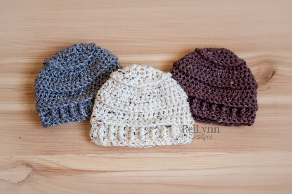 Image of Solid Speckled Beanie