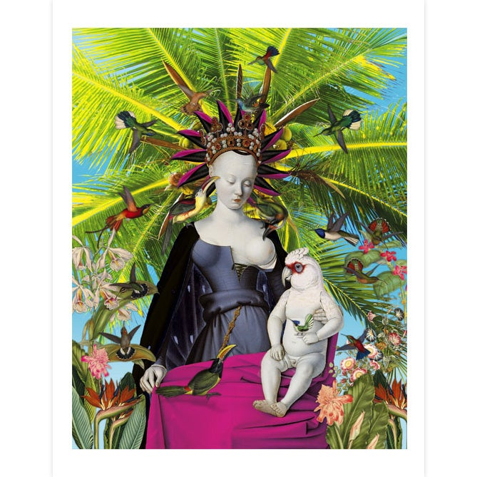 Image of Queen of the birds - Print