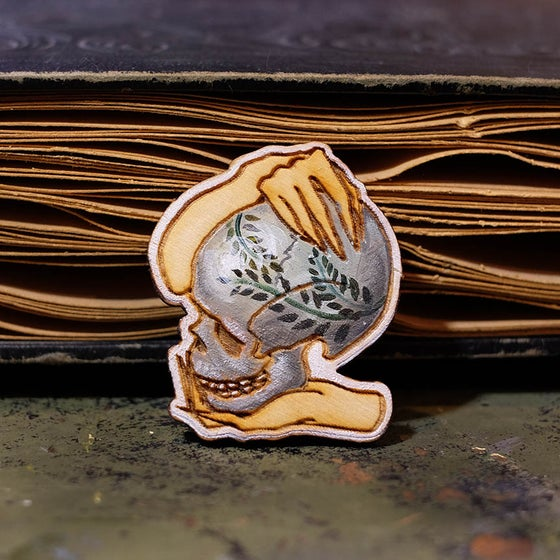 Image of Skull Pin #1