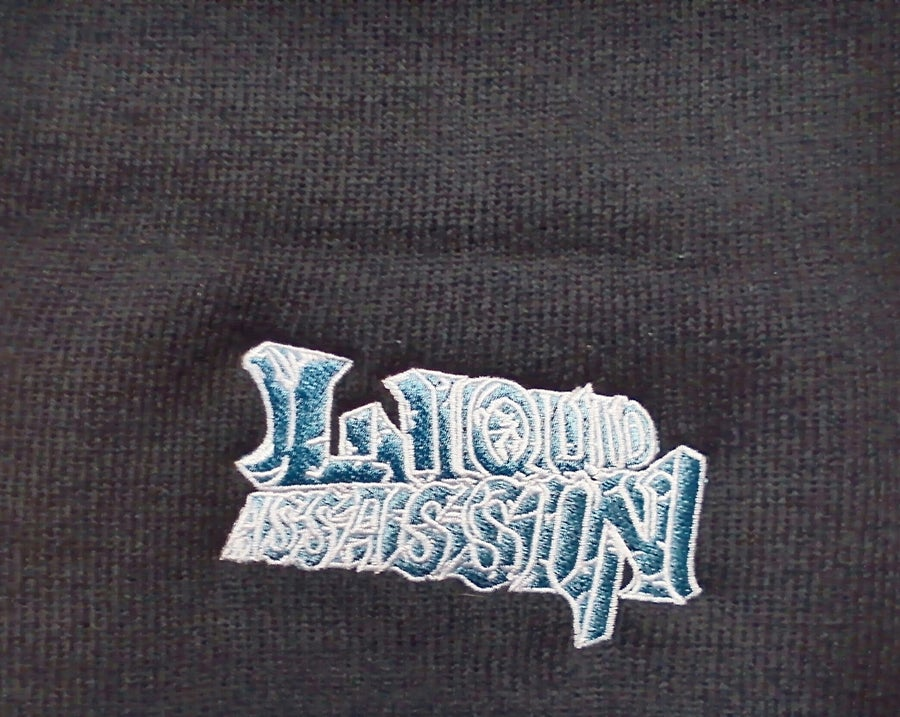 Image of LIQUID ASSASSIN - Mulatto Blue Beanies