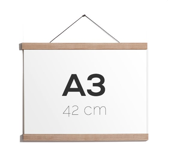 Image of Magnetic Oak Frame A3, 42 cm.