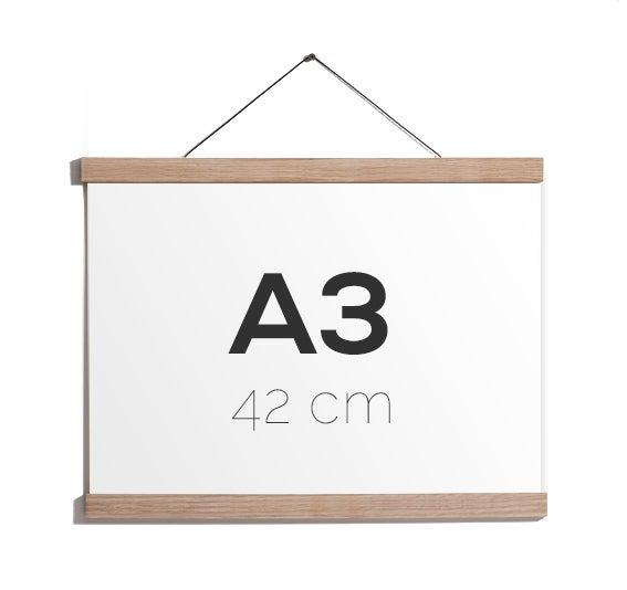 Image of Magnetic Oak Frame A3, 42 cm.