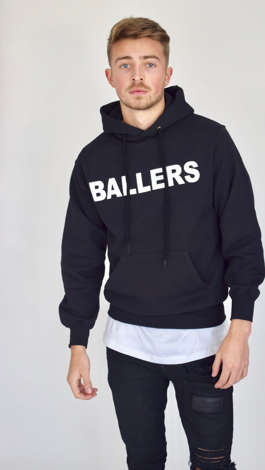 Image of Ballers Noir Pull Over